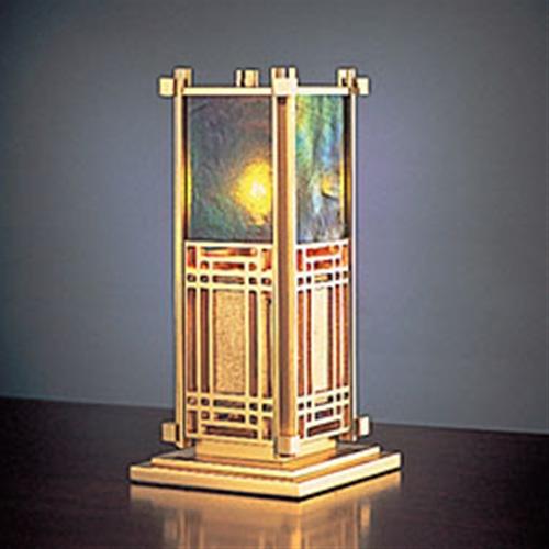 ステンドグラス フランク・ロイド・ライト テーブルランプ 照明 建築家