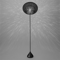 yamagiwa(ヤマギワ)「MAYUHANA MA BLACK」FLOOR LAMP[321S7404B]