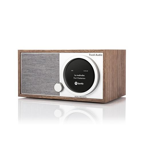 Bluetooth White Tivoli Audio ART MODEL ONE DIGITAL AM FM Radio Wi-Fi