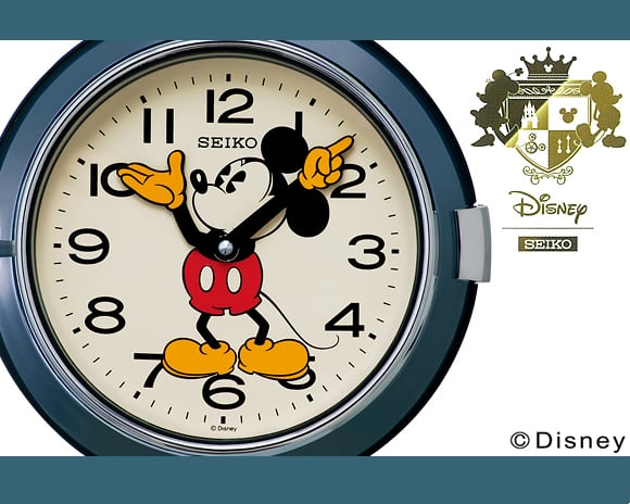 SEIKO(セイコー)_Mickey Wall Clock FS504W