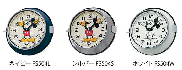 SEIKO(セイコー)_Mickey Wall Clock FS504S