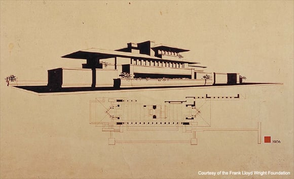 Frank Lloyd Wright(フランクロイドライト)_ROBIE 1 MINI FLOOR(ロビー)