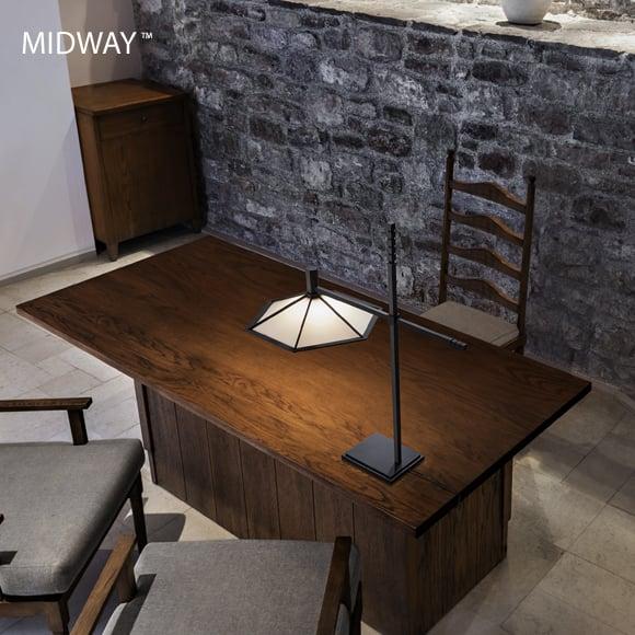 Frank Lloyd Wright(フランクロイドライト)_MIDWAY(ミッドウェイ) Table