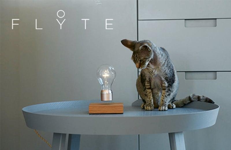 空中に浮くLED電球フライト_スウェーデンのスタートアップFlyte,Incのプロダクト