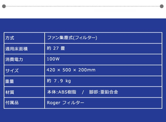 Stadler Form ( スタッドラーフォーム ) 空気清浄器_ Roger