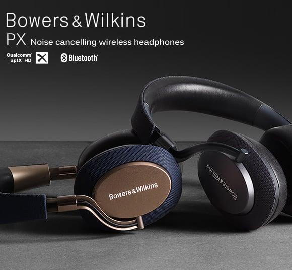 Bowers & Wilkins(バウアーズ&ウィルキンス)_ノイズキャンセリング・ワイヤレスヘッドフォン PX