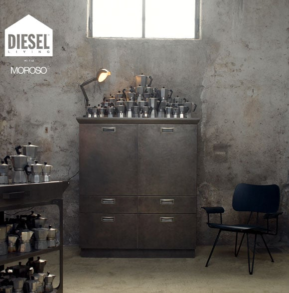 DIESEL LIVING(ディーゼル・リビング)with MOROSO_TOTAL FLIGHTCASE 180x45