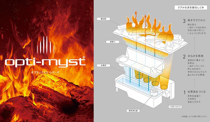 Dimplex(ディンプレックス) FortroseII 電気暖炉