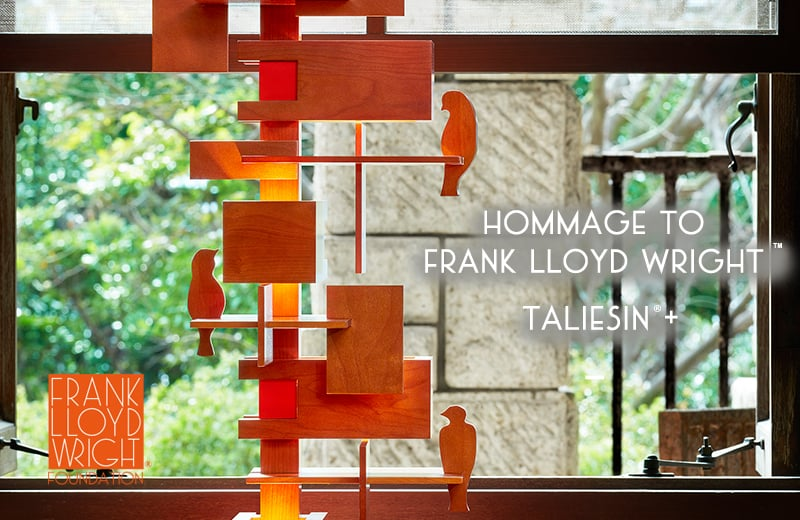 HOMMAGE TO FRANK LLOYD WRIGHT 2018「TALIESIN+ (タリアセンプラス)」皆川 明モデル
