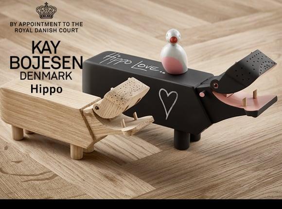Kay Bojesen Denmark(カイ・ボイスン デンマーク)「Hippo(カバ)」ブラック_99639206