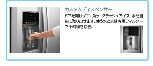 Kenmore(ケンモア)冷凍冷蔵庫583L ステンレス[888KRS5178S]