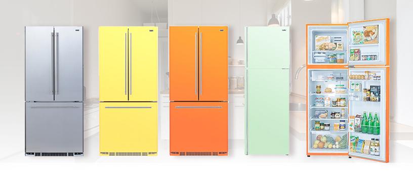 カラー冷蔵庫「MC350」キャンペーン