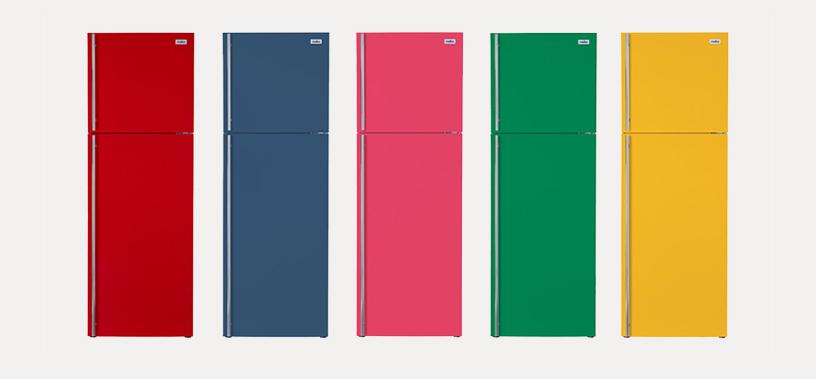 カラー冷蔵庫「MC350」