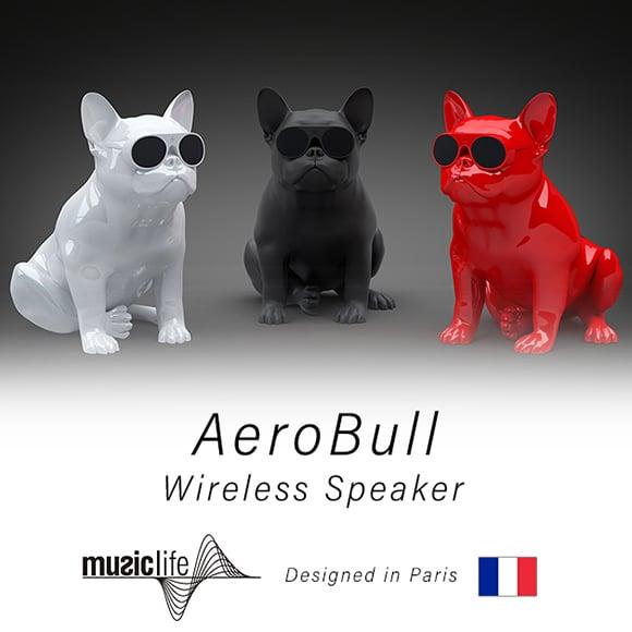 MUSICLIFE(ミュージックライフ)AEROBULL(エアロブル)HD1 グロッシーホワイト