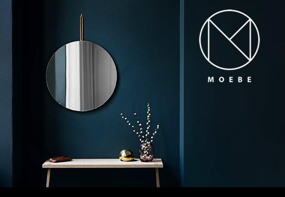 MOEBE(ムーベ)_WALL MIRROR(ウォールミラー)30cm