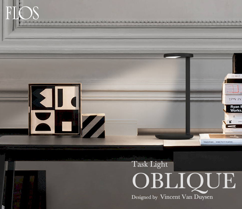 FLOS タスクライト Oblique(オブリーク)