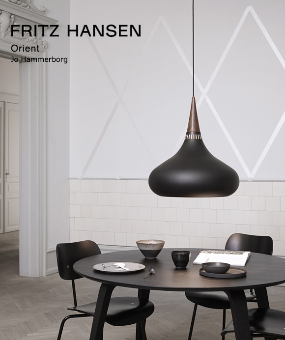 Fritz Hansen_フリッツ・ハンセン(ライトイヤーズ)_ORIENT BLACK P1(オリエント)