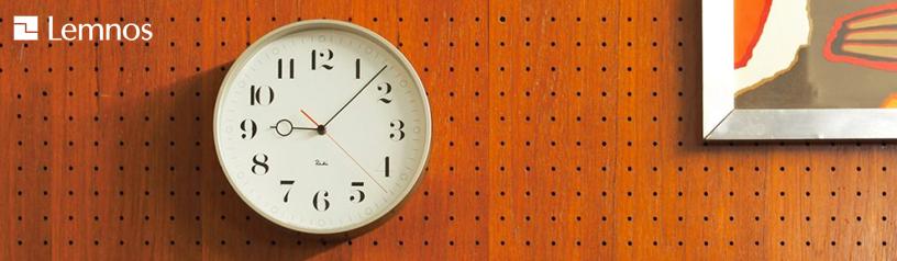Lemnos(レムノス)ウォールクロック RIKI Clock(リキクロック) & RC