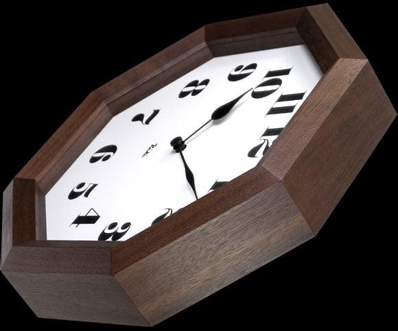 Lemnos(レムノス)_八角の時計