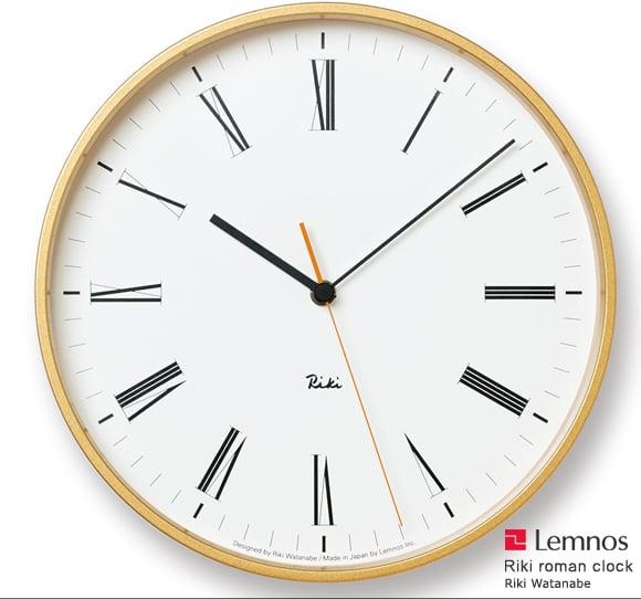 Lemnos(レムノス)_Riki Roman Clock