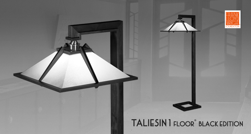 フロアスタンド TALIESIN1(タリアセン1) FLOOR ブラックエディション