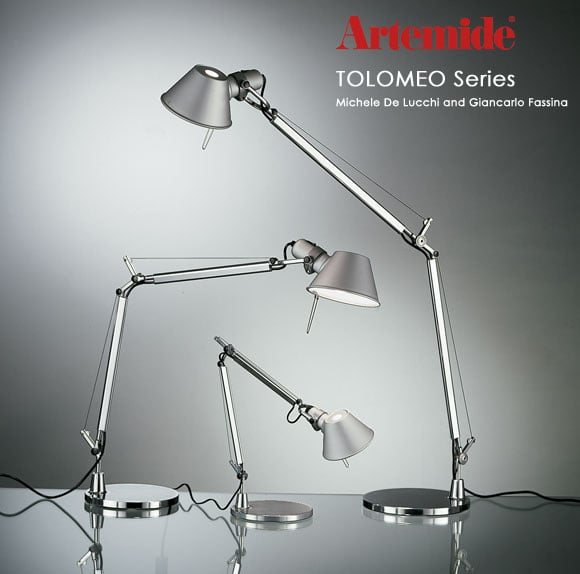 Artemide(アルテミデ)_TOLOMEO TAVOLO MINI LED